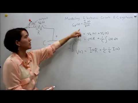 Intro to Control - 2.3 Transfer Function for an R-C Systems