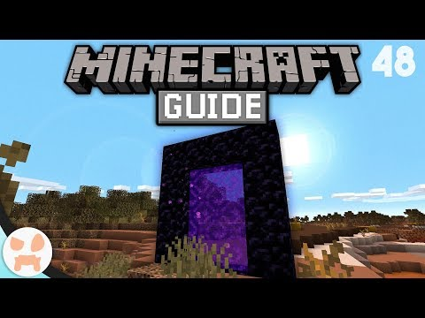 The Basics Of PORTAL TRAVELING! | The Minecraft Guide - Minecraft 1.14.4 Lets Play Episode 48
