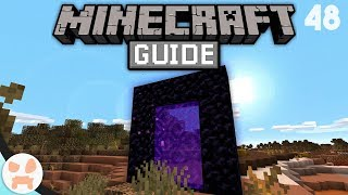 The Basics of PORTAL TRAVELING!   The Minecraft Guide - Minecraft 1.14.4 Lets Play Episode 48