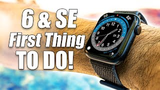 Apple Watch Series 6 & SE -First 10+ Things To Do! (Extra Hidden Features)