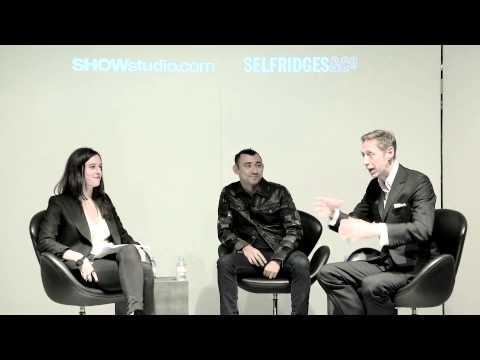 Nick Knight and Nicola Formichetti on Fashion and Technology ¦ Festival of Imagination at Selfridges