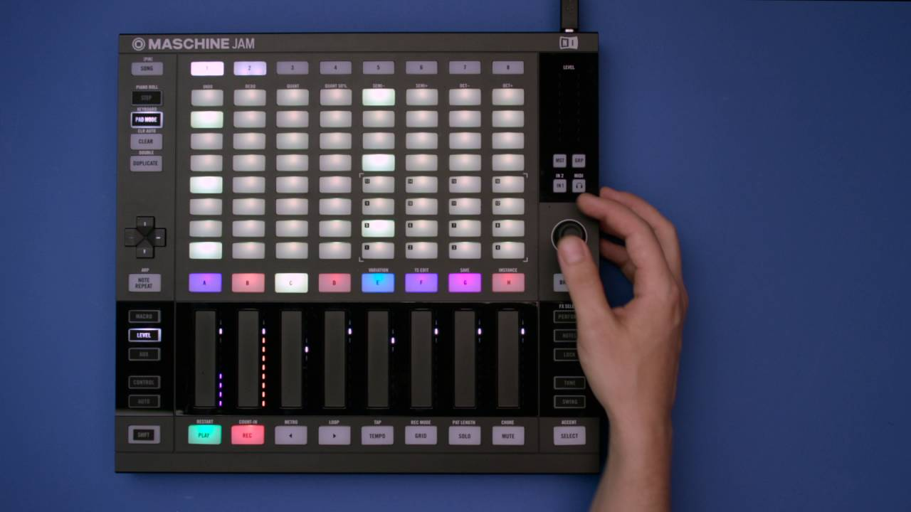 Native Instruments Maschine Jam Groove Production – Swee Lee