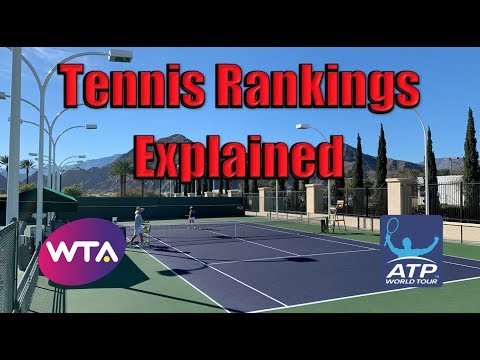 Tennis Rankings Explained
