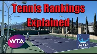 Tennis Rankings Explained