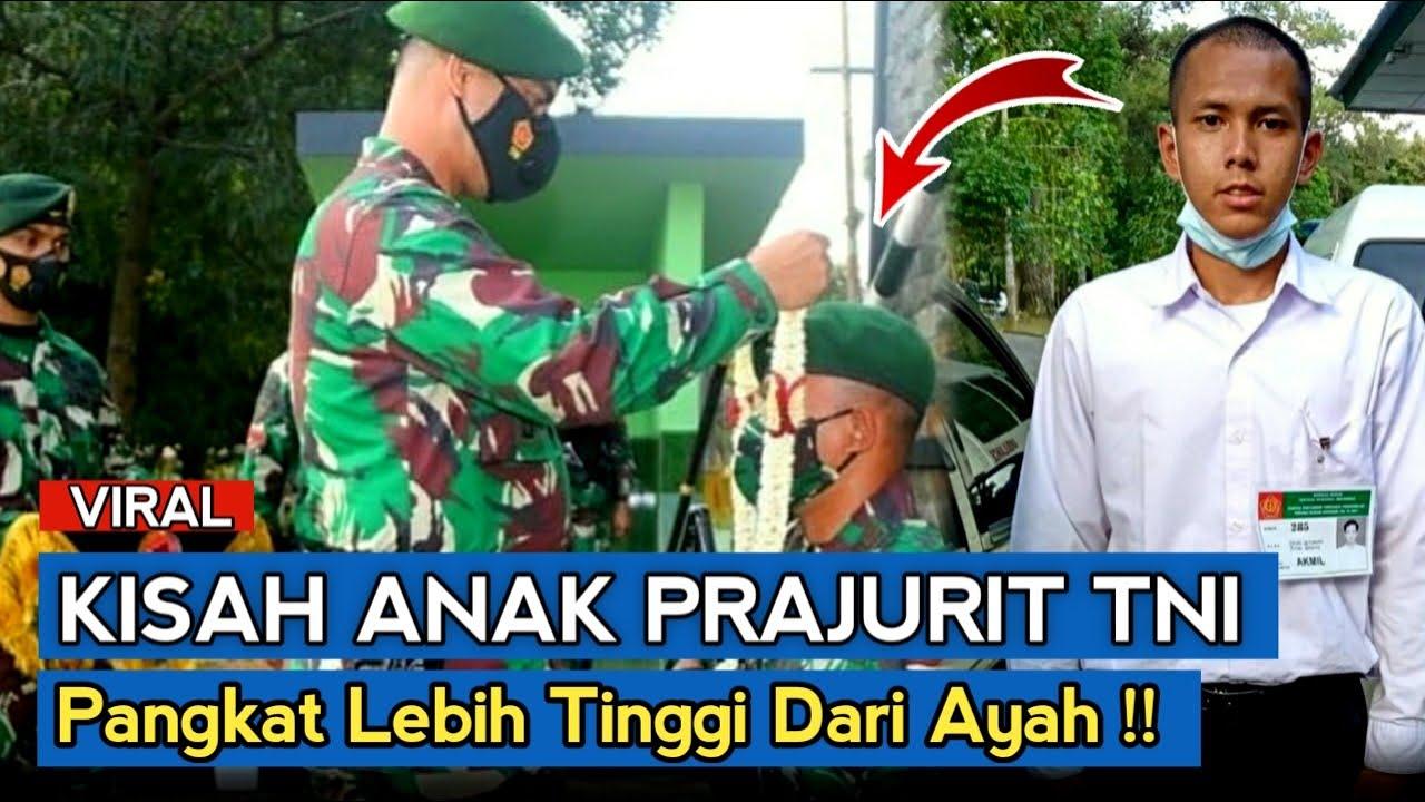 Anak Prajurit TNI Jadi Taruna Akmil, Lulus Perwira Pangkat Lebih Tinggi dari Ayah !!