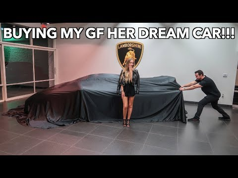 I BOUGHT MY GIRLFRIEND HER DREAM CAR *LAMBORGHINI AVENTADOR*