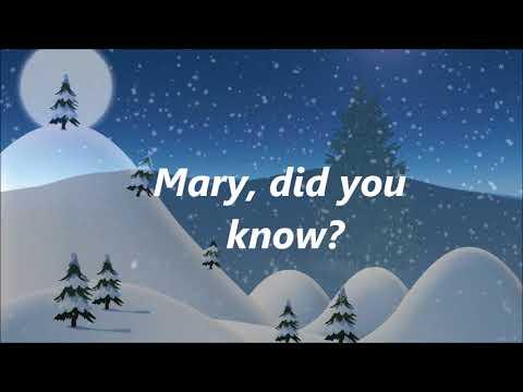 Danny Gokey - Mary Did You Know (Lyrics)
