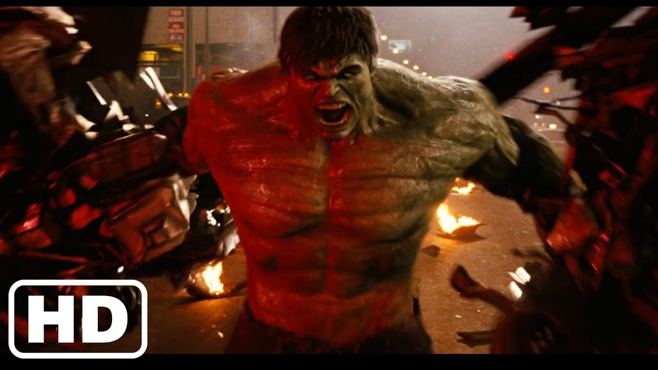 Download THE INCREDIBLE HULK (2008) - Hulk Vs. Abomination - Final Battle Scenes