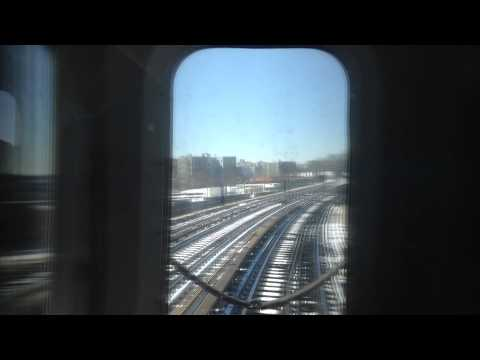 On Board Flatbush Avenue Bound R142 (5) Local Train From Pelham Pkwy to 149th Street-Grand Concourse