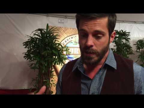 Ken McNickle chats on red carpet at 'Survivor: Millennials vs. Gen X' season 33 finale