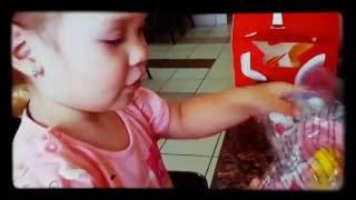 Vlog Супер малышка!Чудо ребенок