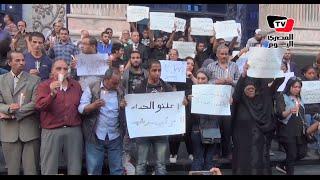 وقفة بالشموع أمام «الصحفيين» حداداً علي ضحايا «مركب رشيد»