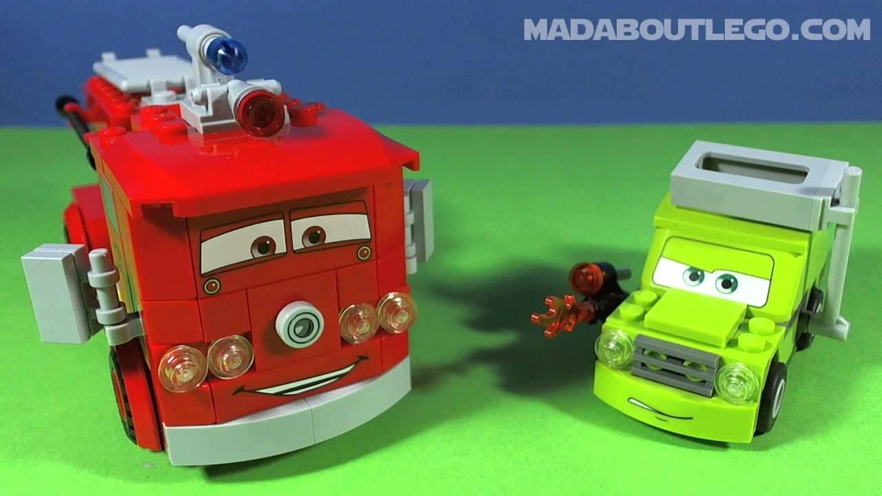 Lego Disney Cars London Race Youtube