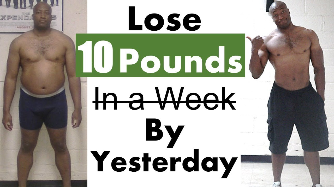 How to Lose 7 Pounds in 7 Days 👉 the Best Workout to Lose Weight Fast