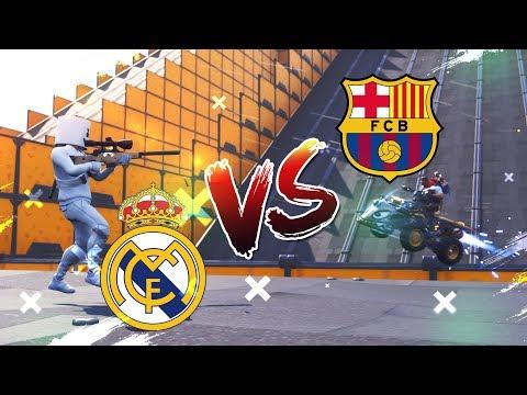 *BARCELONA VS REAL MADRID* SNIPER VS QUADS FORTNITE