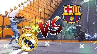 *BARCELONA VS REAL MADRID* SNIPER VS QUADS FORTNITE