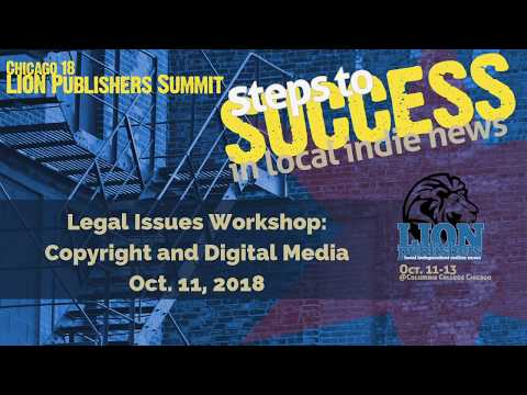 History and Application of Copyright & Digital Media Law