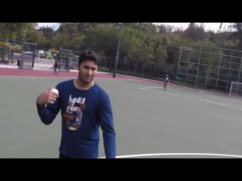 Hong Kong Tape Ball Cricket / First Inning / Rahul & Mateen's Team / 4.2.2017
