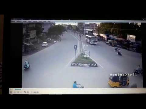 Jagtial Accident In cc footage