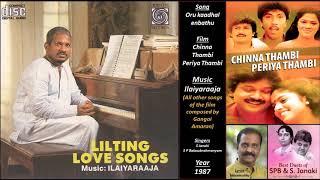 Oru kaadhal enbathu - Chinna Thambi Periya Thambi - Ilaiyaraaja - Vairamuthu - Janaki, SPB- 1987