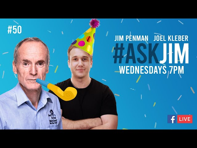 #ASKJIM Episode 50 with Jim Penman and Joel Kleber - www.jims.net - 131 546