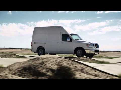 NCV Proving Grounds: Watch Nissan test its vans at the NCV Proving Grounds
