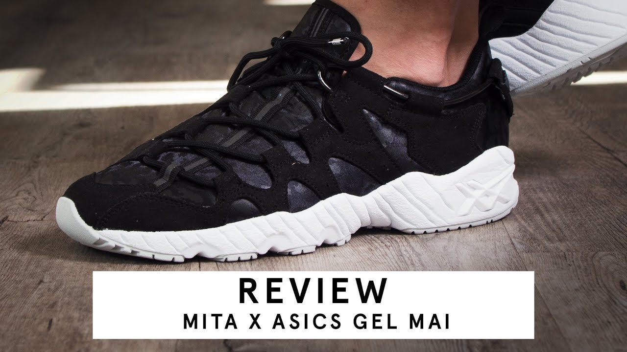 check out a3518 1fd8c Mita x Asics Gel Mai | Review