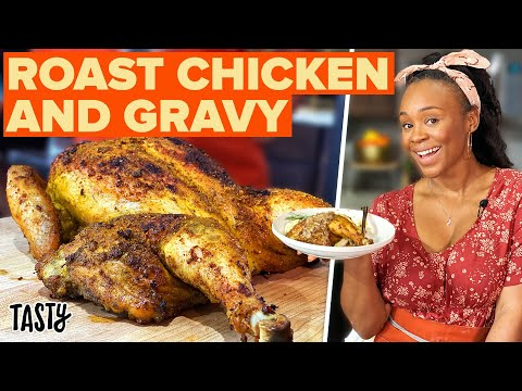How To Make The Perfect Roast Chicken • Tasty