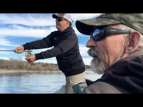 Fishing the Yellowstone River