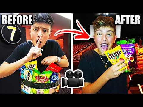 HOW TO SNEAK ANY FOOD INTO THE CINEMA!! 🍿 Life Hacks you CANT Live Without