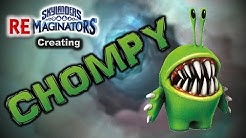 Creating a CHOMPY in Skylanders Imaginators! | Brylander Creates