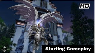 Revelation online Vanguard starting gameplay quest & battle MMORPG pc game free to play us server