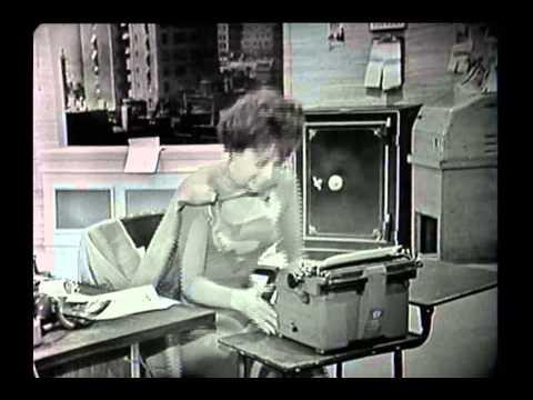 Carol Burnett in 1962 SUPERGIRL TV Sketch!
