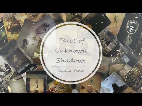 開箱  未知陰影塔羅牌 • Tarot of Unknown Shadows // Nanna Tarot