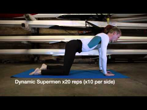 Dynamic Core for Rowers - Core '20' Session