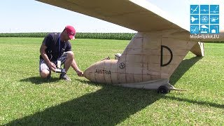 THE BIGGEST RC GLIDER OF THE WORLD, Guinessbook, Ku4 Austria Elefant Markus Frey