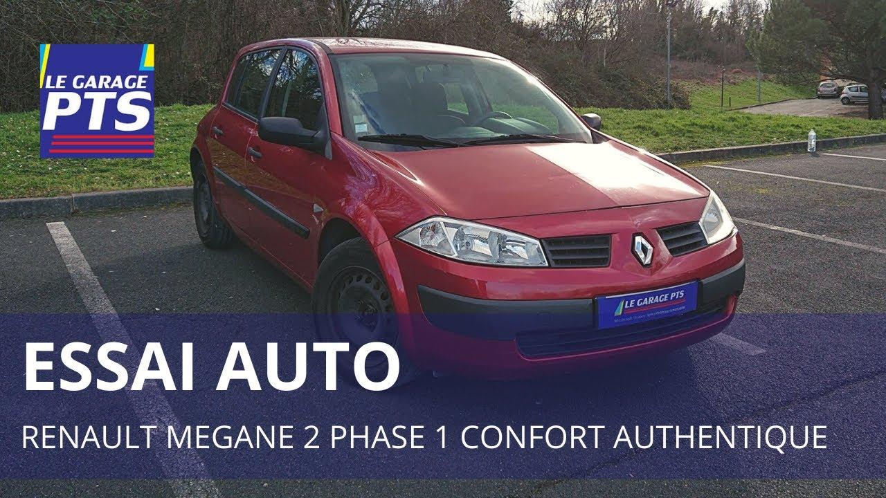Test Renault Megane 2 Phase 1 1 6 16v Confort Authentique 2004 France Youtube