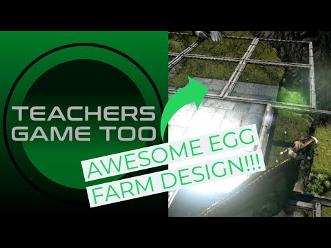 Egg Farm Design! EASIEST WAY TO GET EGGS FAST!