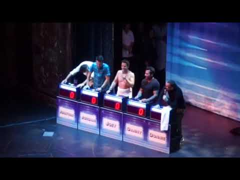 NKOTB Cruise 2017, game show, group A