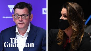 'Simply not correct': Daniel Andrews and Peta Credlin continue press conference sparring