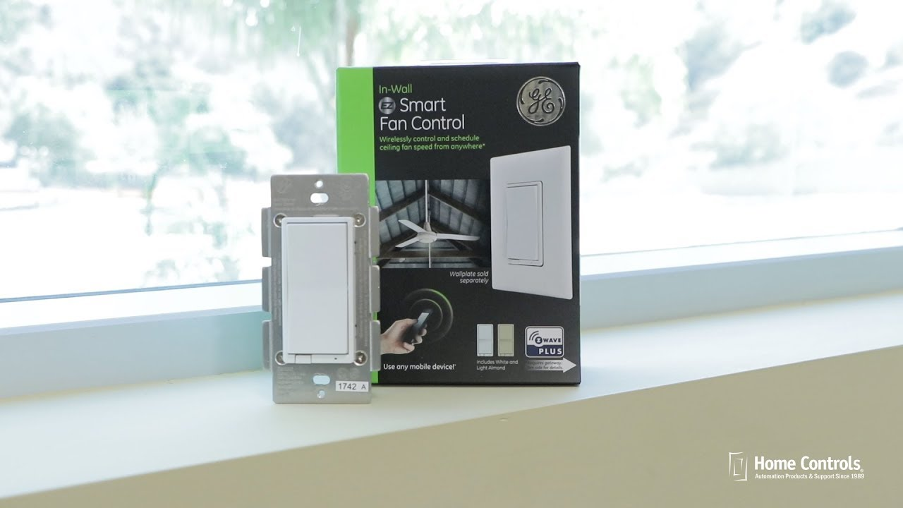 GE Z-Wave Plus In-Wall Smart Fan Control