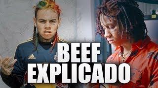 BEEF de TRIPPIE REDD vs TEKASHI 6IX9INE 😱 EXPLICADO | BRAYAN TRAP