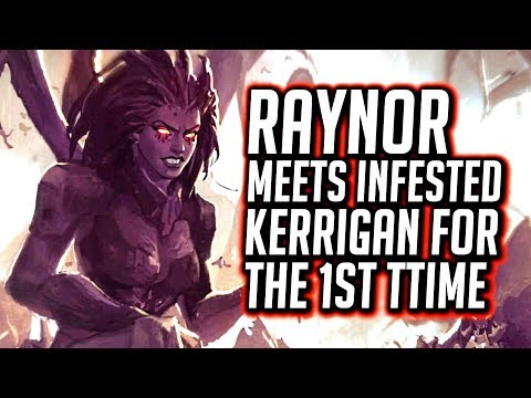 Jim Raynor Meets Infested Kerrigan for the First Time - Starcraft Remastered