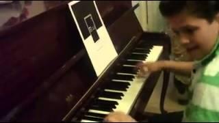 Rockin Raffi 12 years piano cover / A big hunk o love