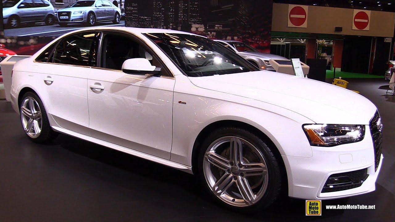 2015 Audi A4 Quattro S Line Exterior And Interior Walkaround 2015 Montreal Auto Show Youtube