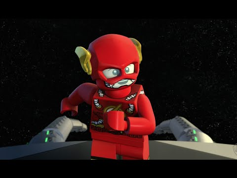Flash vs Brainiac - LEGO DC Comics Super Heroes - Justice League Cosmic Clash