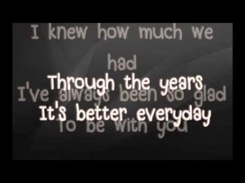 Through The Years - KENNY ROGERS LYRICS