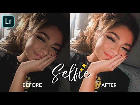 Lightroom Mobile Presets Free Dng | Lightroom Tutorial New 2019 | Selfie Preset
