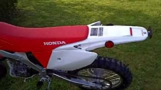 my new CRF250X 2009