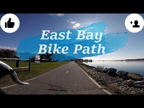 East Bay Bike Path In Rhode Island